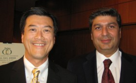 Jason Ma & Raza Jafar, Vice Chairman, Emirates Investment Group