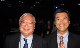 Sir Gordon Wu, Chairman, Hopewell Holdings Ltd & Jason Ma