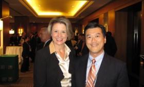 The Hon. Kristina Keneally, Premier of New South Wales, Australia & Jason Ma