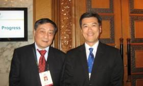 ZONG Qinghou, Chairman, Hangzhou Wahaha Group & Jason Ma