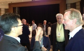 Jason Ma and John Sculley, former CEO, Apple, Managing Partner, InflexionPoint, and Executive Chairman, Pivot AC
