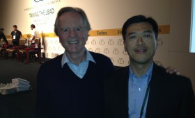 John Sculley, former CEO, Apple, Managing Partner, InflexionPoint, and Executive Chairman, Pivot AC and Jason Ma