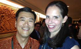 Jason Ma and Moira Forbes, President and Publisher, ForbesWoman