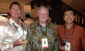 Paul Bradley, Chairman and CEO, Caprica International; Steve Forbes, Chairman and Editor-In-Chief, Forbes Media; and Jason Ma