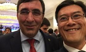 Cevdet Yilmaz, Deputy Prime Minister, Turkey; & Jason Ma