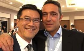 Jason Ma & Ali Y. Koc, Vice Chairman, Koc Holding (Turkey's largest company), & Chair, B20 Employment Taskforce 2015