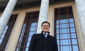 Jason Ma at the Great Hall of the People, Beijing