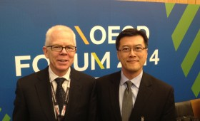 Robert Milliner, Senior Advisor, UBS, & Sherpa, B20 Australia 2014, & Jason Ma