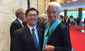 Jason Ma & Christine Lagarde, Managing Director, International Monetary Fund (IMF)