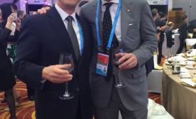 Jason Ma & John Denton, First Vice Chairman, International Chamber of Commerce