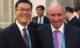 Jason Ma & Stephen Schwarzman, Chairman, CEO & Co-Founder, Blackstone Group