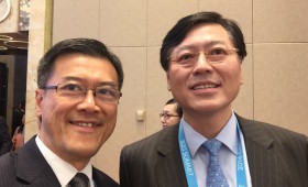 Jason Ma & Yang Yuanqing, Chairman & CEO, Lenovo