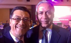 Jason Ma & former President of Pakistan & Board Member, Boao Forum for Asia
