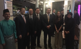 Jason Ma, H. E. Ma Ying-jeou, former President of Republic of China (Taiwan) & Staff (Getting ready for a private river cruise)