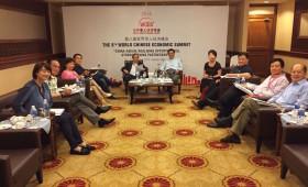 WCES Global Advisory Council Meeting, including Tan Sri Khoo Kay Peng, Tan Sri Michael Yeoh, CEO & Director, ASLI, & Chairman, WCES, & Jason Ma