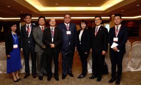 Speakers, including Data' Sri David Yeat, Founder, Chairman & CEO, GD Development, Malaysia, & Co-Chairman, WCES, & Jason Ma